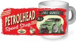 Koolart PERTOLHEAD SPEED SHOP Design For New Green Ford Focus RS Ceramic Tea Or Coffee Mug